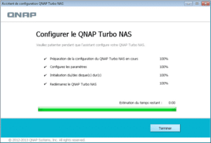 Configurer le turbo Nas Qnap