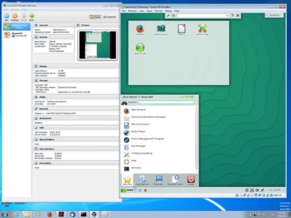 OpenSuse Windows