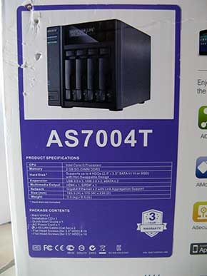 Test du NAS ASUSTOR AS7004T
