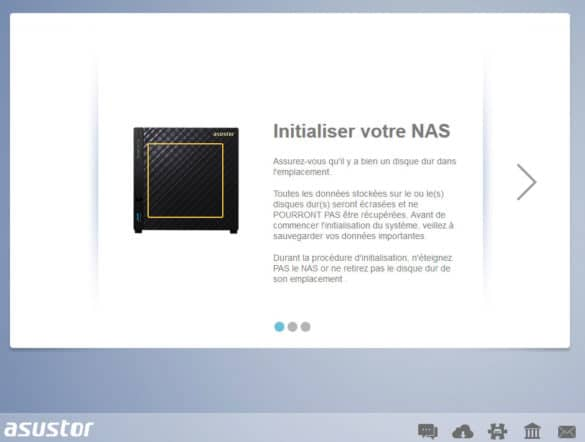 Tests des NAS ASUSTOR AS6208T et AS3204T