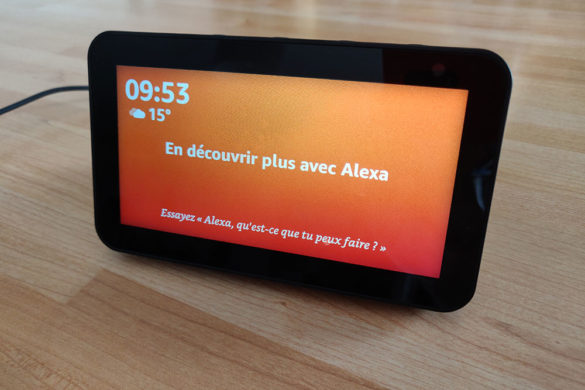 Alexa sur Amazon Echo Show 5