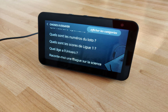 Choses à essayer sur Echo Show 5