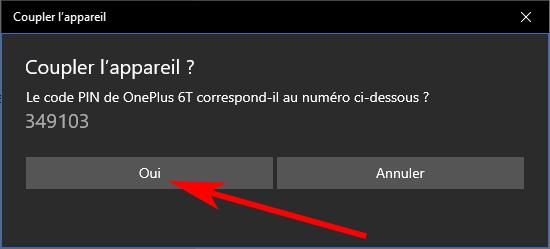 Coupler votre téléphone Bluetooth avec Windows