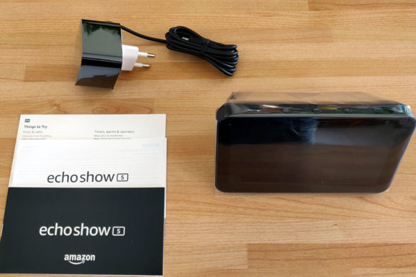 Packaging Echo Show 5