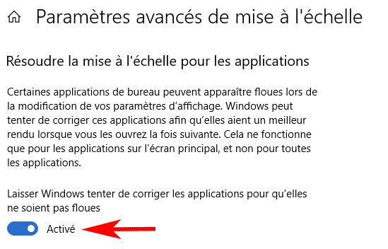 correction applications floues