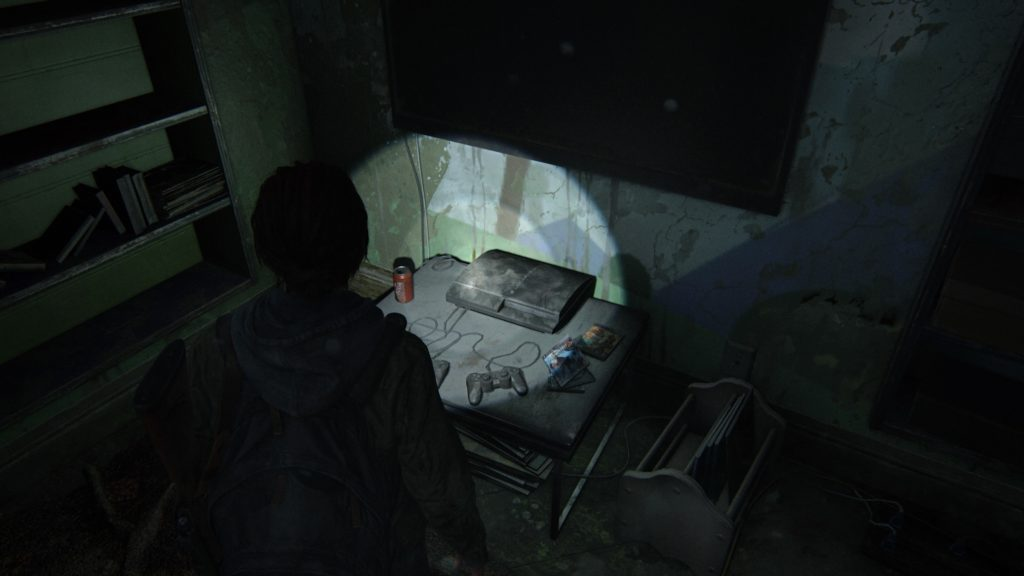 PS3 dans The Last of Us Part II