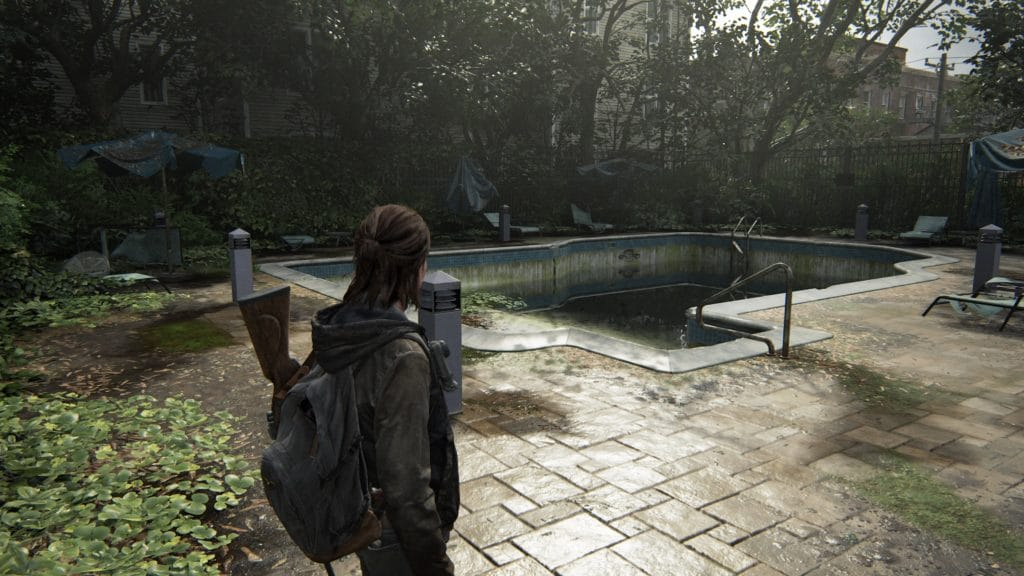 Piscine dans The Last of Us Part II